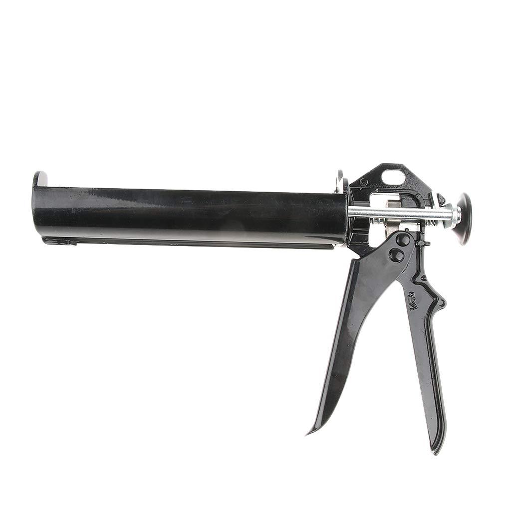 Homyl Double-Barrel No-Drip Caulk Gun for 400ml/13oz/0.1Gallon Dual Cartridges 10L/min