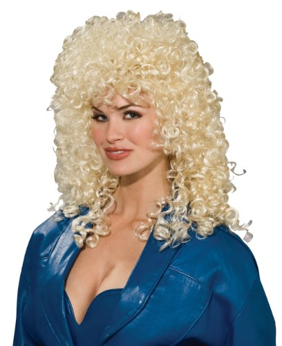 Forum Novelties Women's 80's To The Maxx Wild Curl Wig