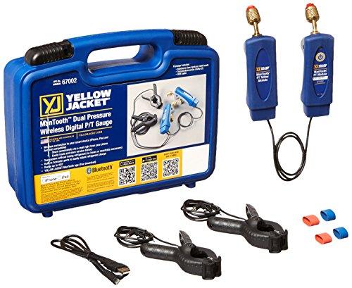 - Yellow Jacket 67002 ManTooth Dual Pressure Gauge Set