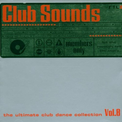 VA-Club Sounds The Ultimate Club Dance Collection Vol.8-2CD-FLAC-1998-MAHOU Download