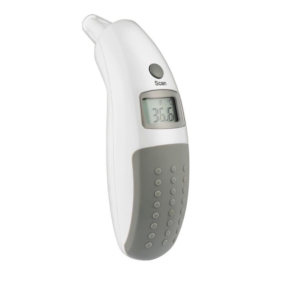 AVANTEK Ear Thermometers for Fever ET-G1, High-Precision Non-Contact Baby Thermometer with Instant Reading, Fever Alarm, Memory Recall for Kids & Adults