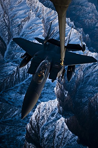 - Home Comforts A U.S. Air Force F-15E Strike Eagle aircraft is refueled by a KC-10A Extender aircraft from the 908t