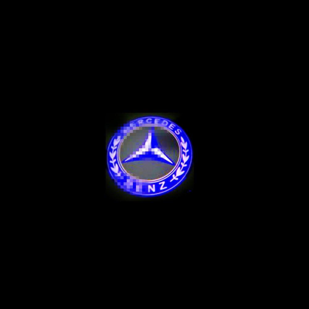 Colorbuy Logo Pour Porte de Voiture,Porte Voiture Projecteur Bienvenue Fant/ôme Ombre Lumi/ère Logo