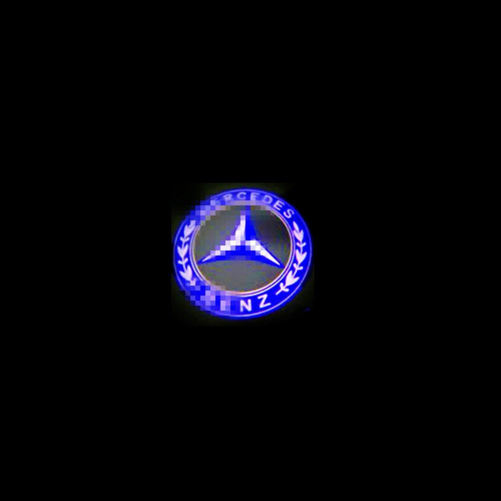 Colorbuy Puerta de Coche Bienvenido Proyector L/áser Logo Luz Fantasma Sombra Car Door Logo Projector Light
