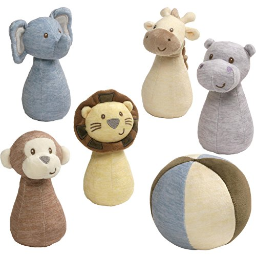 (Gund Baby Bowling Set Baby Plush Toy, Playful Pals)