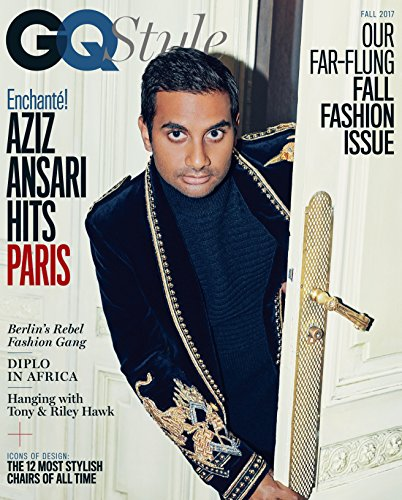 GQ Style Magazine (Fall, 2017) Aziz Ansari Cover