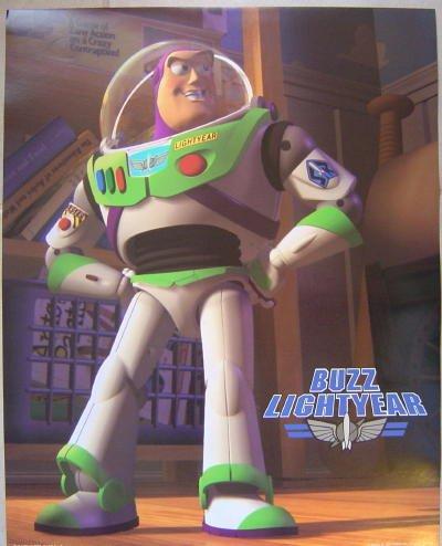 - Disney Buzz Lightyear Toy Story Poster