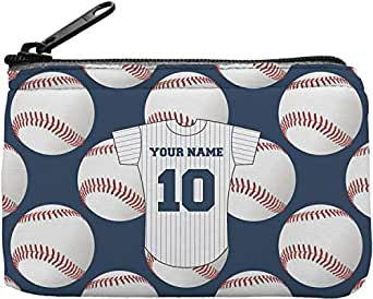 Amazon.com: Béisbol Jersey rectangular cartera ...