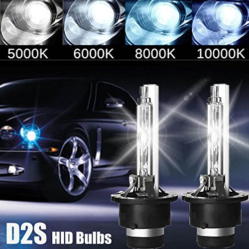 n Bulbs 6000K Cool White Factory Headlight Bulb Replacement 85126 35W 3000Lm Plug & Play, 2 Year Warranty ()