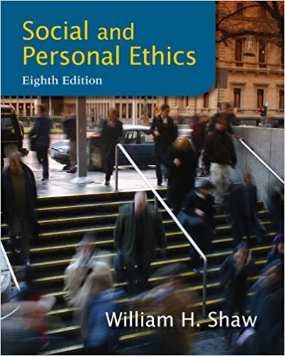 Amazon social and personal ethics 8th edition 9781133934738 amazon social and personal ethics 8th edition 9781133934738 william h shaw books fandeluxe Gallery