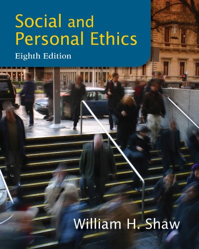 Social and Personal Ethics 8th Edition