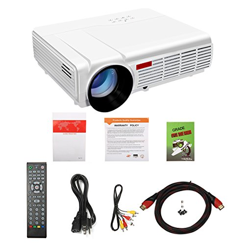 260 Multimedia 3000 Lumens Hd Led Projector Home Theater: Wifi Projector,ELEGIANT 3000 Lumens Long Life LED Full HD