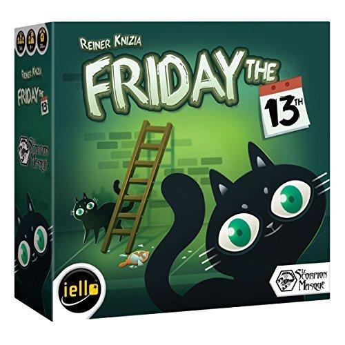 IELLO Friday The 13th Board Game [並行輸入品] B07SB3GT8G