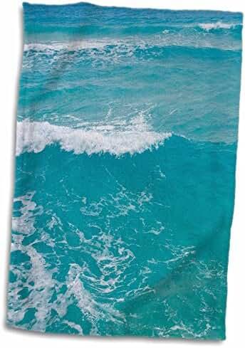 3dRose Danita Delimont - Mexico - Mexico, Quintana Roo, Cancun, Caribbean Sea - SA13 RBI0058 - Randa Bishop - 12x18 Hand Towel (twl_86757_1)