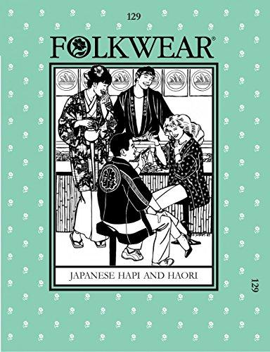 Folkwear Patterns Ladies & Mens Sewing Pattern Japanese Hapi & Haori ...