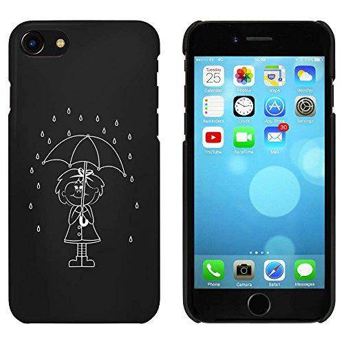 Noir 'Fille de Jour Pluvieux' étui / housse pour iPhone 7 (MC00080219)