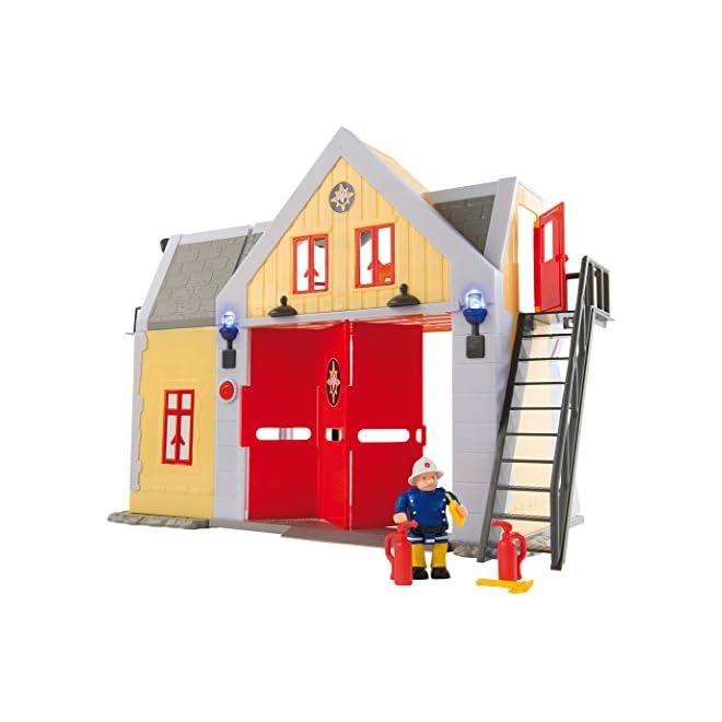 smoby 7 109251062002n sam le pompier caserne la caverne du jouet. Black Bedroom Furniture Sets. Home Design Ideas