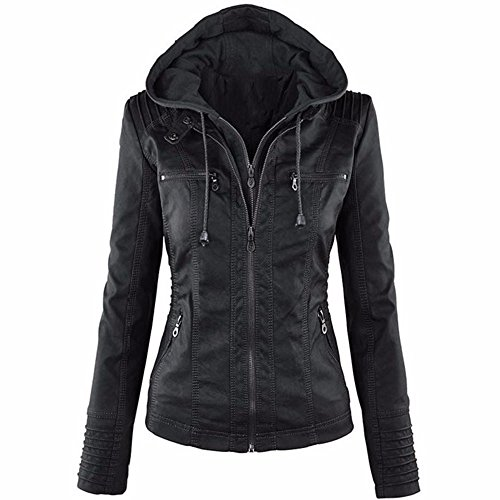 Leather Vintage Coat - 6