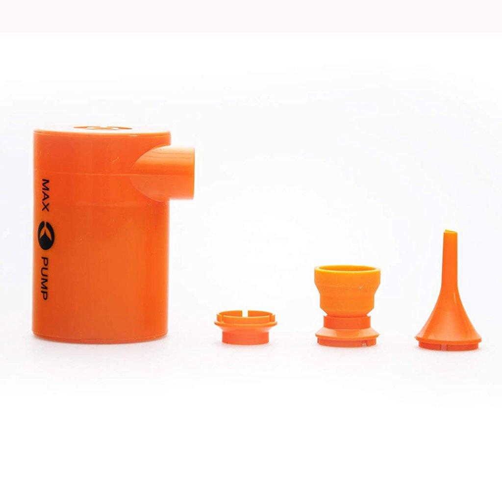 Max Pump Bomba de aire recargable recargable de la bomba de la cama del USB para los colchones inflables Juguetes de cargables Camas inflables inflables ...