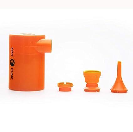 Max Pump Bomba de aire recargable recargable de la bomba de la cama del USB para