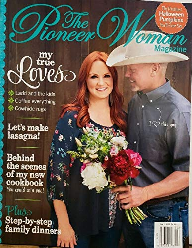 The Pioneer Woman Magazine Fall 2019 Lasagna Halloween Pumpkins FREE