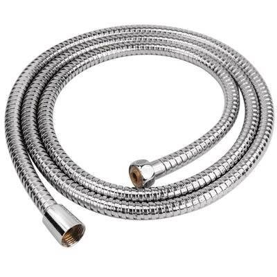 Guilty Gadgets - 1.2M Flexible Stainless Steel Shower Bathroom Hose Pipe Guilty Gadgets ¨ 2m Shower pipe