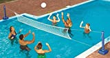 Swimline 9186 Cross Inground Swimming Pool Fun Volleyball Net Game Water Set __#positivepoolwholesale