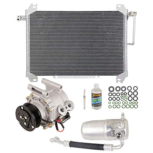 A/C Kit w/AC Compressor Condenser Drier For Chevy Trailblazer EXT GMC Envoy - BuyAutoParts 60-82471CK New ()