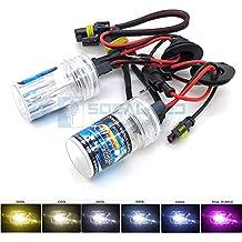 O-NEX 2X Xenon HB3 9005 HID Bulbs AC 35W Headlight Replacement High Bright 10000K Deep Blue