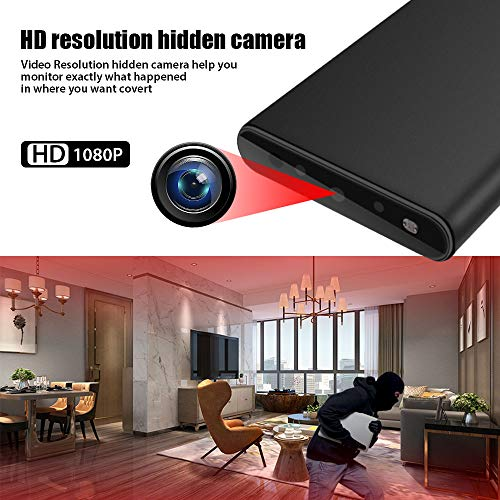 Hidden Camera HD 1080P Spy Camera Motion Detection Night Vision Security Surveillance Camera for Home and Office