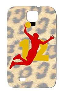 Howard Sports Rockets Basketball Shockproof For Sumsang Galaxy S4 Red Howard SUPERSTAR 12 Rockets Shirt Protective Hard Case