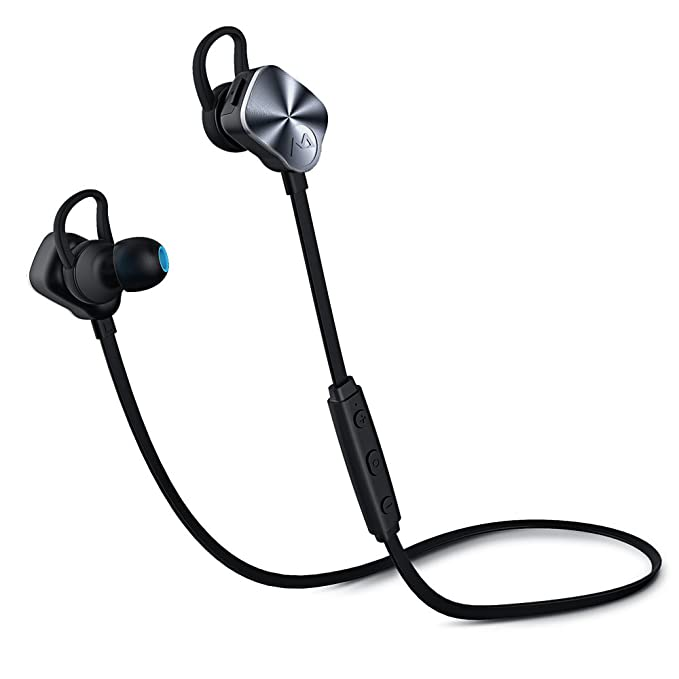 Mpow Wolverine Auriculares Bluetooth V4.1 Wireless Deporte auriculares in-ear con cancelación de