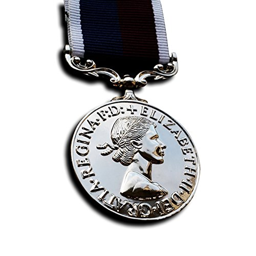 British Officer Uniform Costume (Military Medal Royal Air Force Long Service and Good Conduct Medal RAF WW2 British Medal Repro)
