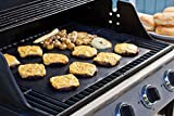 Windspeed 2 pcs Grill Mat Set, Non-stick BBQ Grill & Baking Mats Pad- Works on Gas, Charcoal, Electric Grill and More - 15.75 x 12.9 Inch
