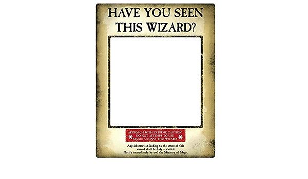 Star Cutouts SC1419 - Póster oficial de Harry Potter Wanted ...