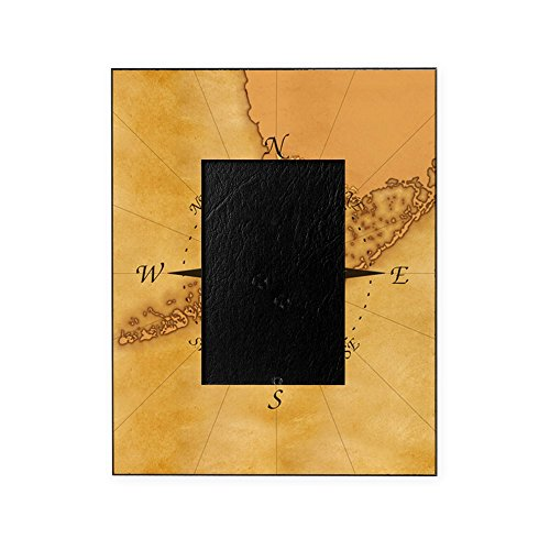CafePress - Key West Compass Rose - Decorative 8x10 Picture Frame