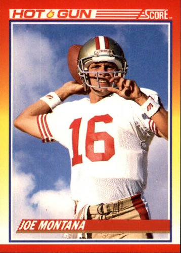 1990 Score Football Card #311 Joe Montana Mint