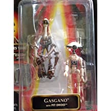 Star Wars Episode I, Phantom Menace Action Figure, Gasgano with Pit Droid