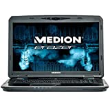 "Medion Erazer X7835 - Ordenador portátil con pantalla de 17.3"" FullHD (Intel Core i7-4710MQ, 16 GB RAM, 1 TB HDD + 128 GB SSD, NVIDIA GeForce GTX 980 4 GB, Windows 8.1) color negro - Teclado QWERTY español"