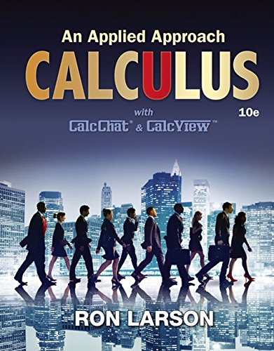 Calculus: An Applied Approach (Brief Calculus An Applied Approach 10th Edition)