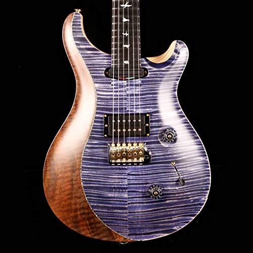 - PRS Private Stock Custom 24 Flame Maple and Walnut Split Top Indigo