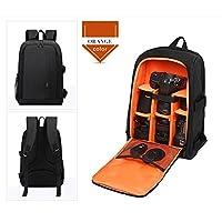 Dslr SLR Waterproof Backpack Camera Rucksack Shoulder Bag Travel Camera Bags for Canon Nikon SLR Camera (Green)