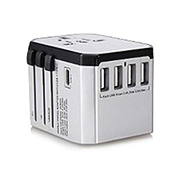 Amazon.com: Adaptador de corriente universal internacional ...