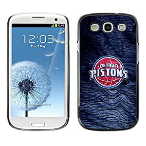 LOVE FOR Samsung Galaxy S3 Detroit Piston Basketball Personalized Design Custom DIY Case Cover