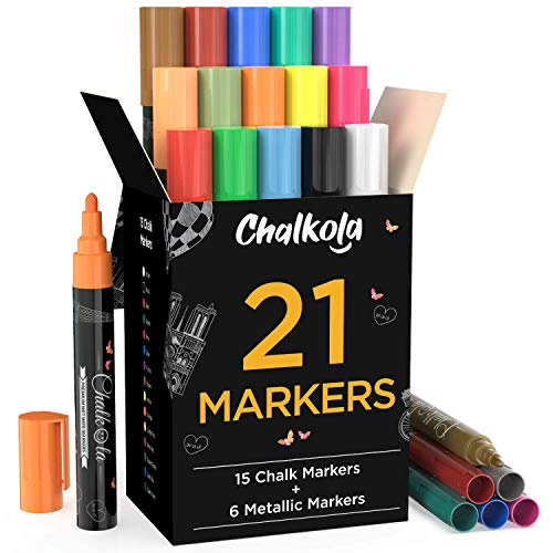 Chalk Markers Metallic Colors