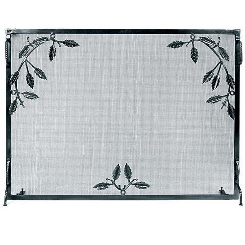 leaf design fireplace screens - 9