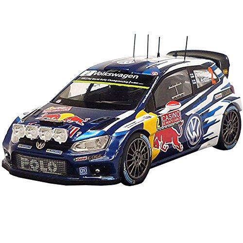 Volkswagen 6 C1099300b modello auto Polo R WRC –  Latvala/ANTTILA 1: 43 Volkswagen AG 6C1099300B