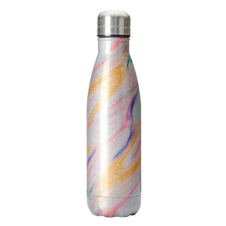 Amazon.com: Botella de agua Jujin de doble pared con ...