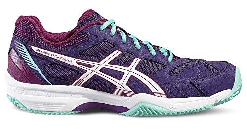 Asics Gel-Padel Exclusive 4 Sg, Tennis women 39m Purple / Cockatoo