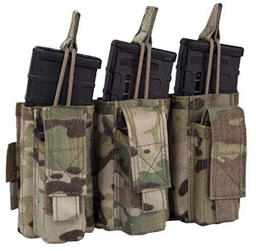 Warrior Assault Systems Triple Mag Pouch with Snap 5.56 mm & 9mm type 5.56 mm & 9mm, colour Multicam, size unisize